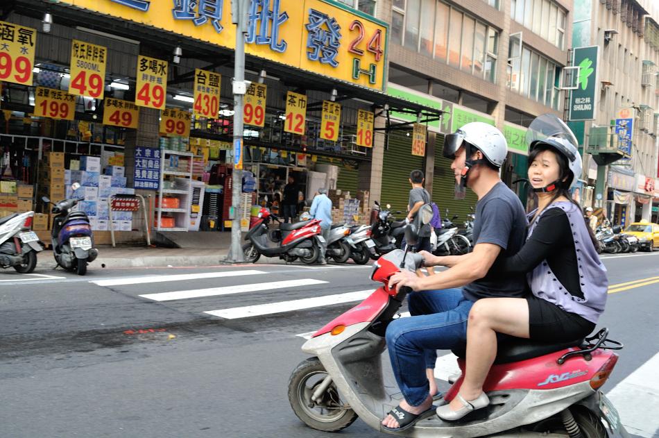 typical Taipei street