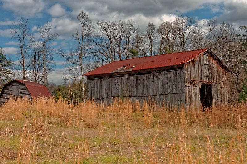 Barns and Grass
