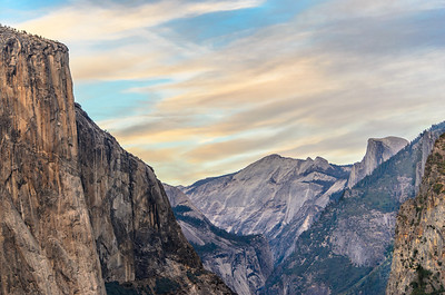 This view of El Capitan, Clouds Rest, and Half Dome was taken from a vantage point called Artist Point. A short hike to a beautiful view that not many see. It too is from Yosemite last year.