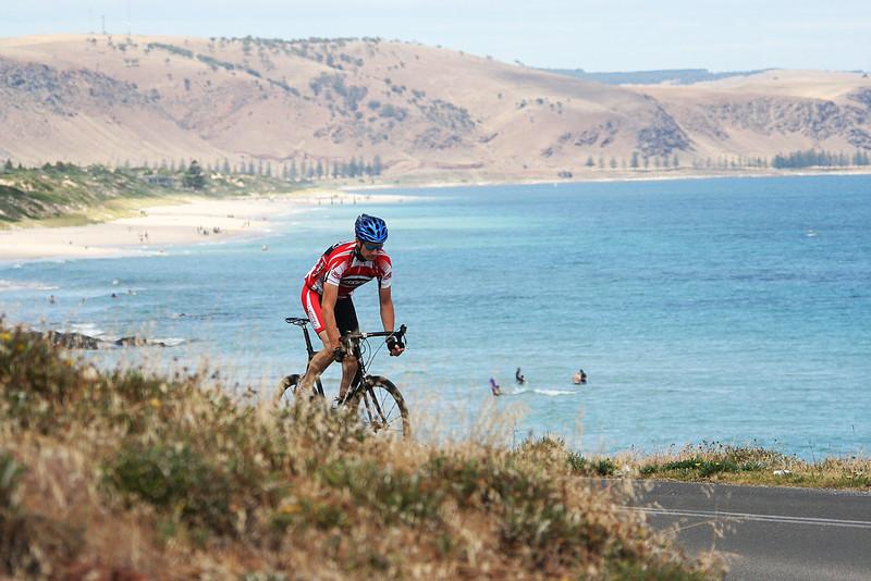 Road cyclist, South Australia