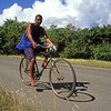 Local cyclist, Granma, Cuba
