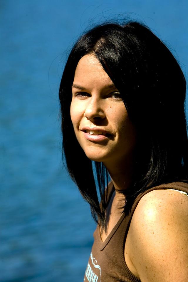 Maureen at Kingsmere Lake