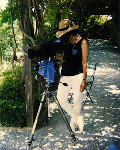 Working on a commercial photo shoot years ago...