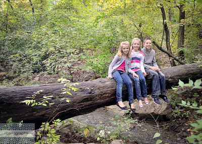 Kids on Log - Fave!-