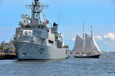 At Charlestown Navy Yard