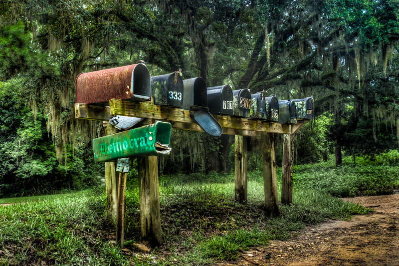 Swampy Mailboxes