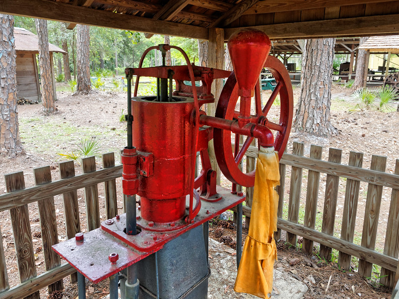 Well Pump at Heritage Village