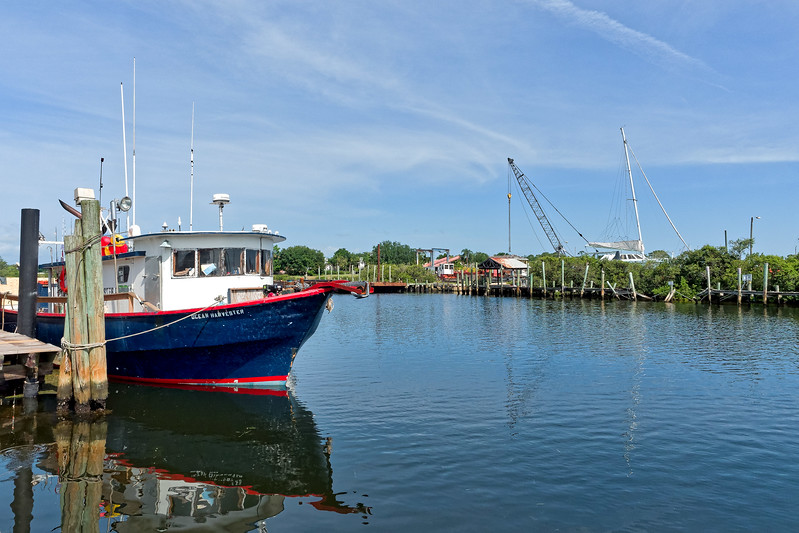 Ocean Harvester Docked in Tarpon Springs