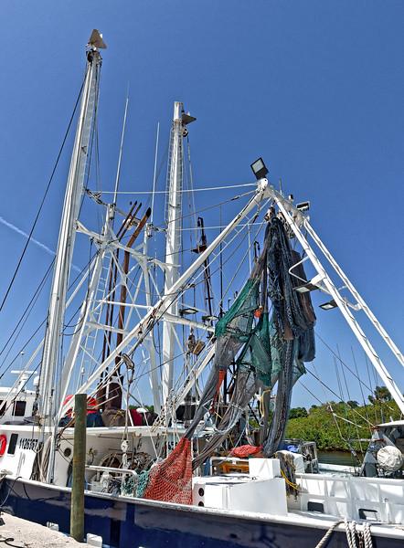 Julie Ann Fishing Boat Docked at Tarpon Springs