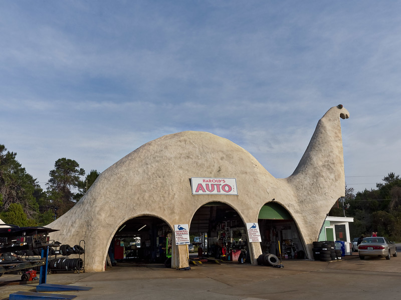 Have Your Car Fixed in a Dinosaur