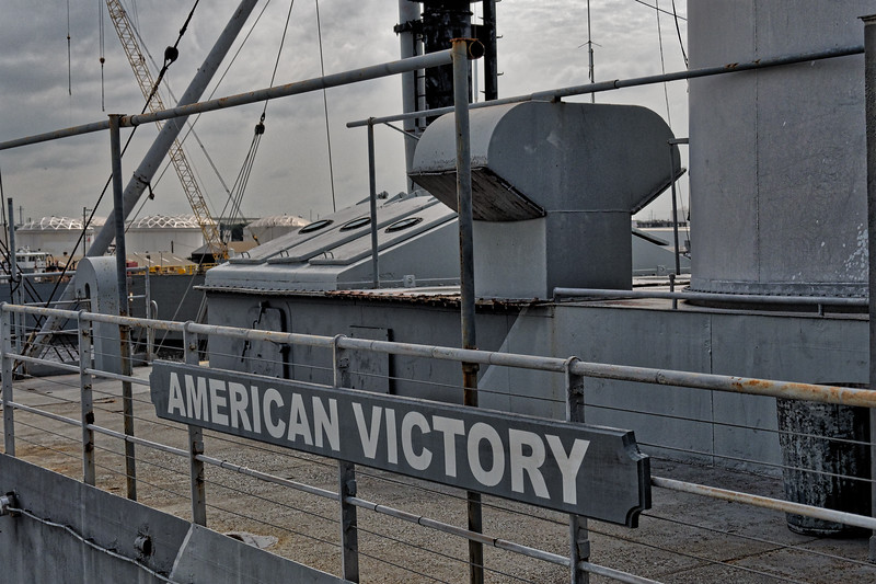 SS American Victory Deck