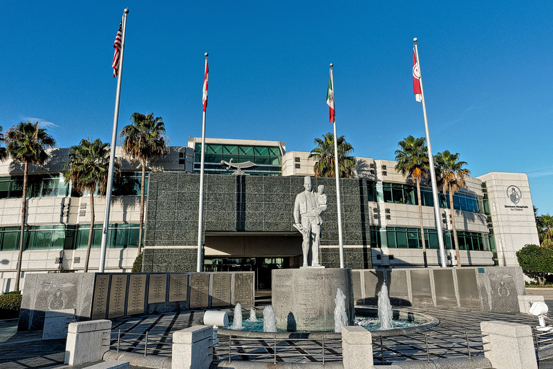 Commemorative Plaza at the Shriners' International Headquarters