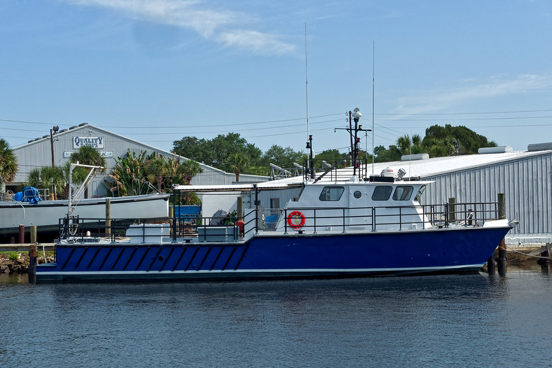 Boat Docked on the Anclote River
