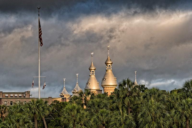 Minarets of former Tampa Bay Hotel
