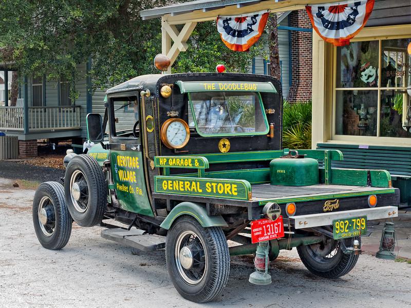 1929 Ford Doodlebug at Heritage Village