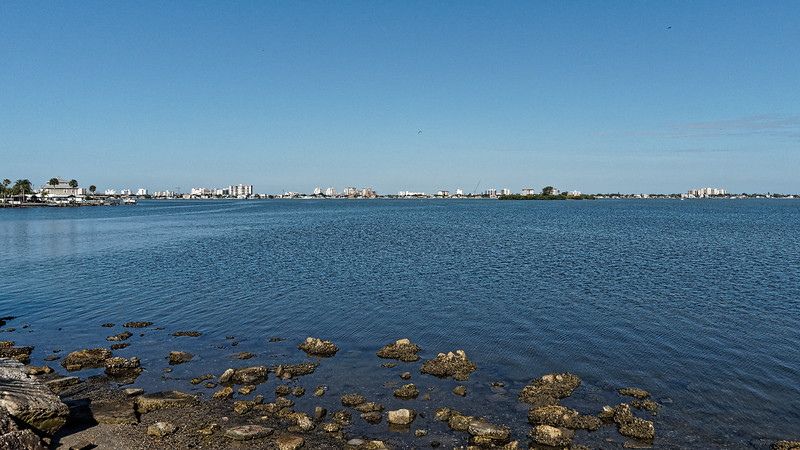 Clearwater Beach across the bay