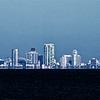 Tampa Skyline as seen from Apollo Beach Preserve