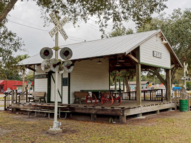 Lutz Florida Replica of Train Depot