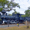 """1913 Baldwin Steam locomotive known as """"Old Cabbage Head"""""""