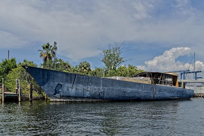 Tarpon Springs Boat Hull