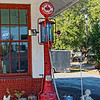 Red Crown Gas Pump