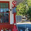 Red Crown Gas Pump