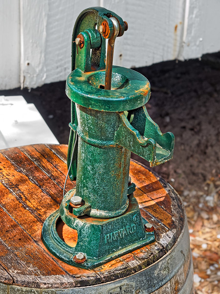 Water Well Pump at Heritage Village
