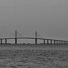 Sunshine Skyway Bridge from Fort De Soto Park