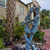 """PG"" Rated Statue in Tarpon Springs"