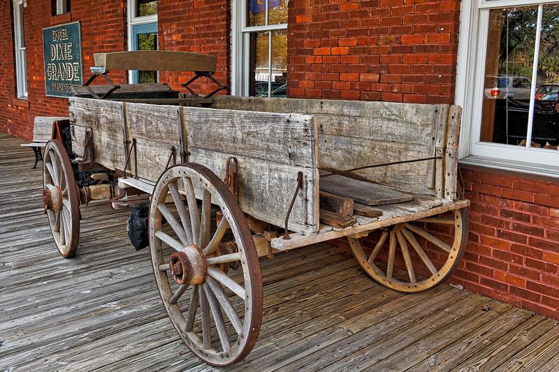 Wiggins General Store Wagon