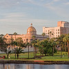 First Baptist Church of Tampa across Hillsborough River