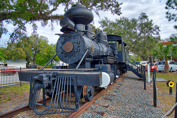 "1913 Baldwin Steam locomotive known as ""Old Cabbage Head"""