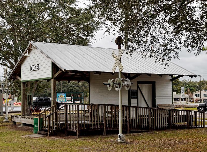 Lutz Florida Railroad Depot