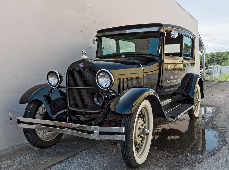 Early 1930's Ford in Tarpon Springs