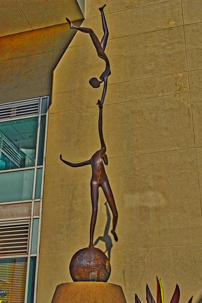 Ballet Dancers Sculpture