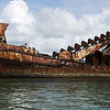 Shipwrecks, Tangalooma, Queensland, Australia