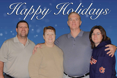 Left to right: Dave Tanner Jr, Connie Tanner, Dave Tanner Sr and Amy Yonk. Date Taken: 26 Dec 2009