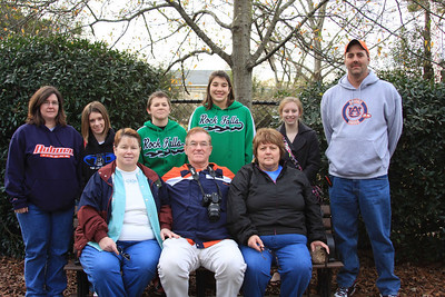 Back Row: Amy Yonk, Meagan Tanner, Kyle Yonk, Booke Yonk Courtney Tanner, Larry Yonk. Seated: Connie Tanner, David Tanner Sr and Debbie Tanner.