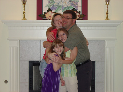 Group Hug.  Dave Jr and Famiy July 2005