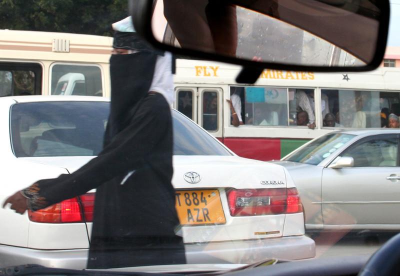 traffic jam. dar es salaam