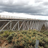 The Rio Grande Gorge Bridge, used in many Movies..