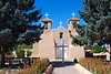Each year the parishioners restore the adobe finish in the traditional way.