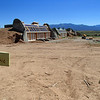 'Earth Ship' homes site near Taos.