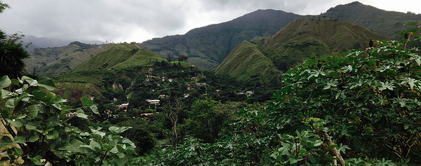 Vilcabamba, where everyone lives to be 100. Road then goes south to the Tapichalaca Reserve at 7600 feet altitude.