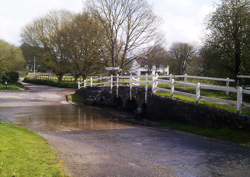 The ford at Tarrant Monkton, perfect for a morning cuppa.