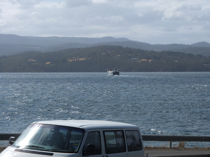 Car Ferry_Bruny Is. on its way to Kettering
