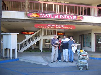 Taste Of India - Xmas 2005
