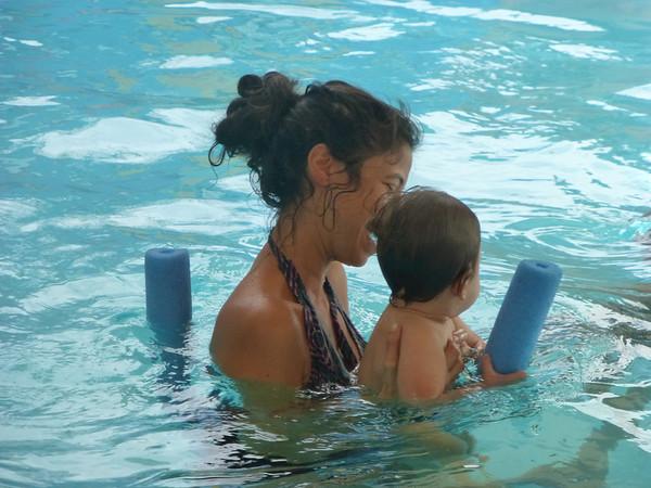 Tav's Swimming Lesson - 1/31/14