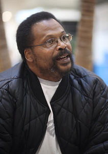 Kevin Harris, press operator, age 46 from Elyria discusses the end of the temporary Social Security tax reduction. photo by Ray Riedel