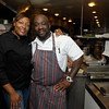 Bravo's Top Chef Contestants Tiffany Derry (Season 7 & 8) and Kenny Gilbert (Season 7) cook for a packed house at Ray's at Killer Creek.
